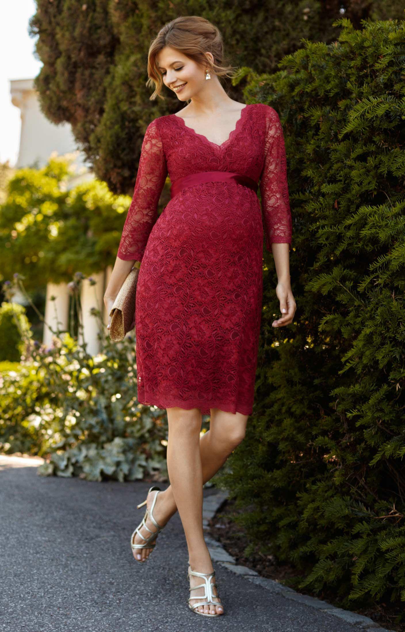 Wedding dress rental los angeles  M s red lace dress maternity  Good style dresses  Pinterest