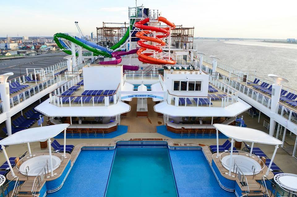 Pool deck on Norwegian Getaway! See more of our favorites ...
