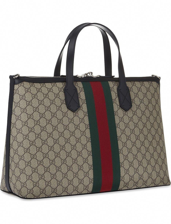 415500b94a9 GUCCI - Supreme duffle bag