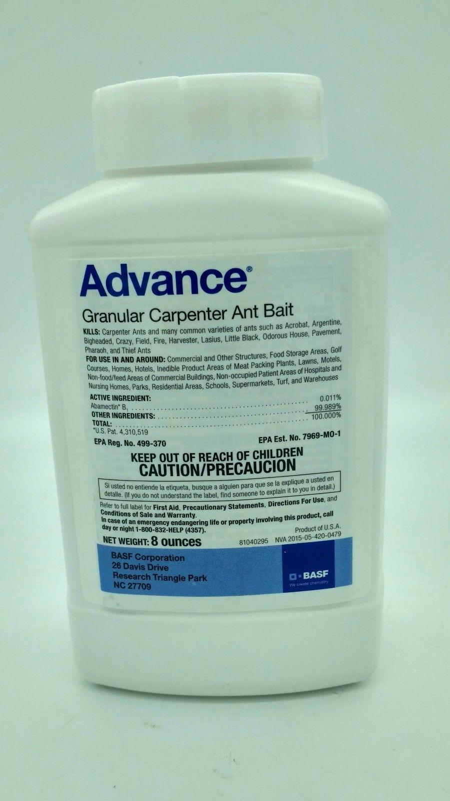 Advance Carpenter Ant Granular Bait Pest Control 8 Oz | Bait ...