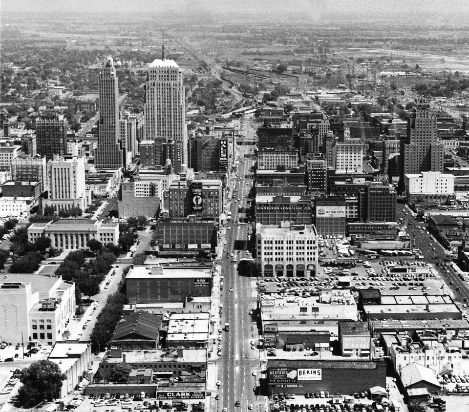 Downtown S Foreman Clark Building To Become 124: Oklahoma City Aerials Collection - Photo Gallery