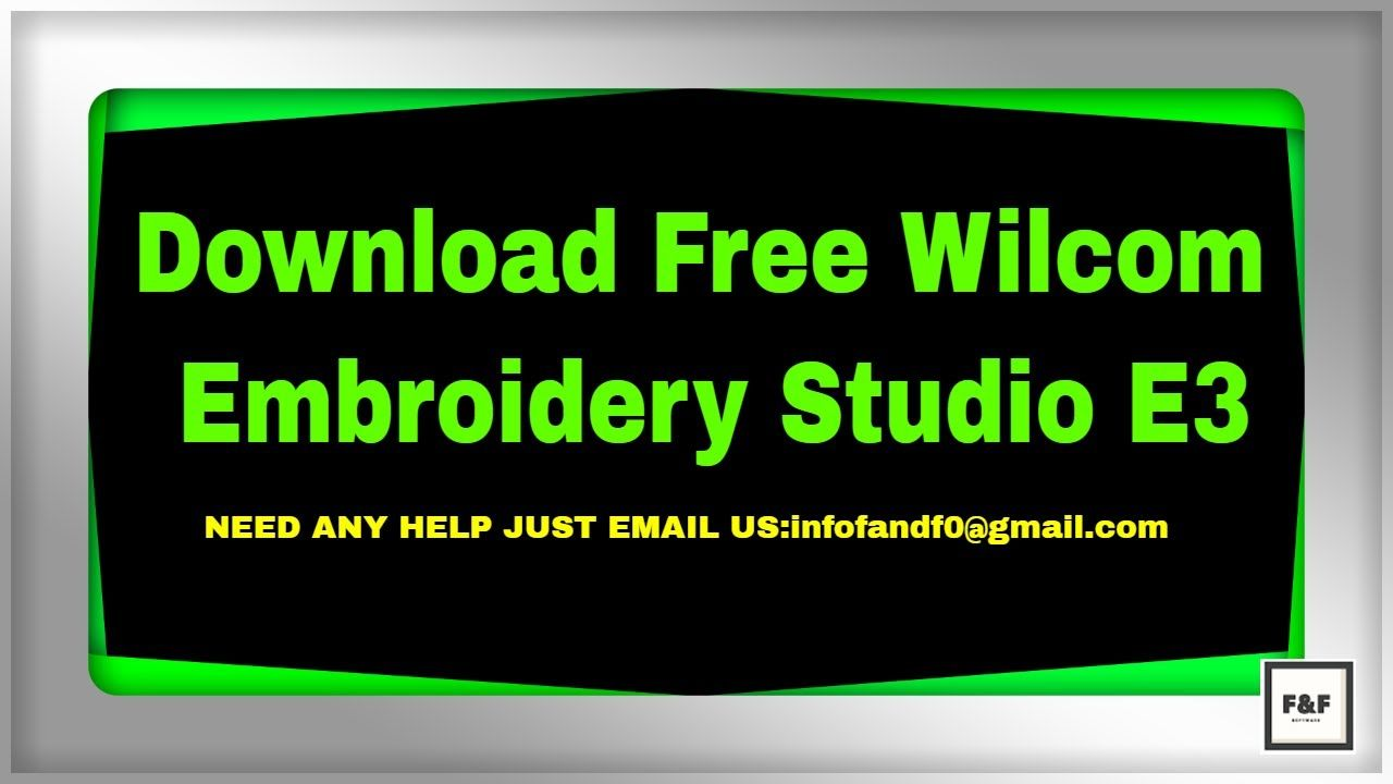 Download Free Wilcom Embroidery Studio E3 | Software
