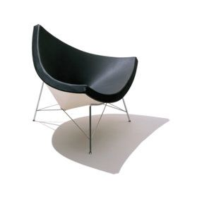 Nelson Coconut Chair Designer George Nelson These Are The Chairs For The Lounge Space 4499 Coconut Chairs Chair Modern Classic Chair