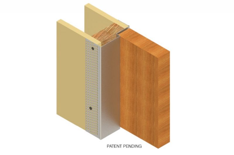 Ezyjamb Single Rabbet Frameless Door Flush Doors Hidden Doors In Walls Interior Design Portfolios