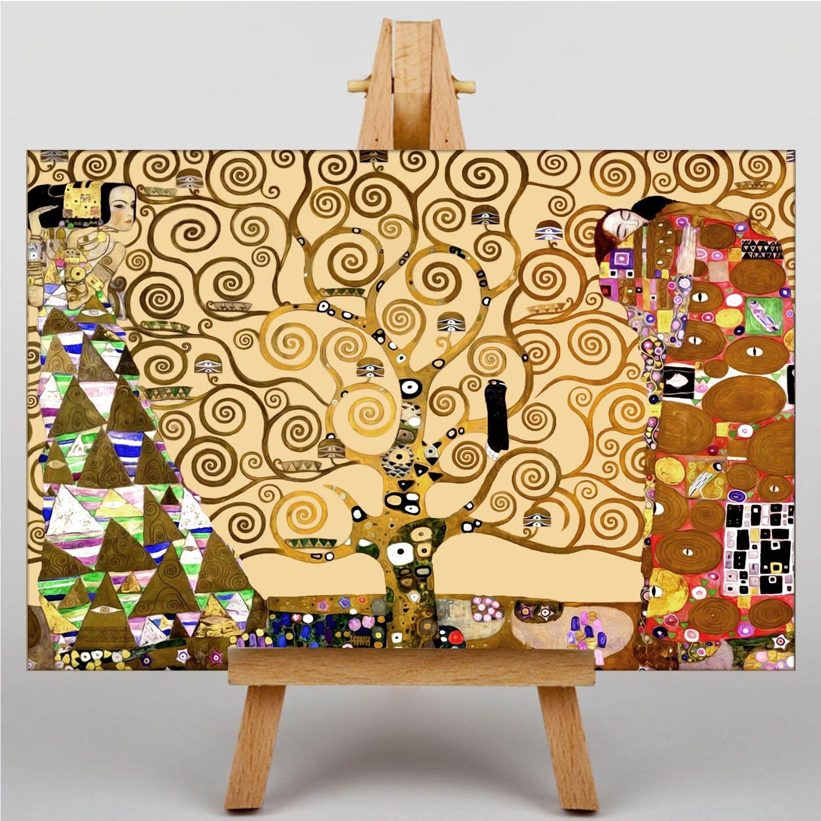 LARGE WALL ART 30x20 Inch - Gustav Klimt - The Tree of Life   Klimt ...