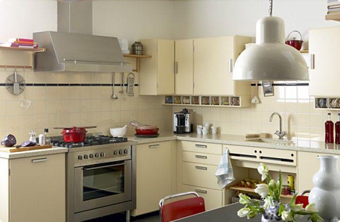 Retro Design Keuken : Retro keuken piet zwart bruynzeel keuken pinterest kitchen