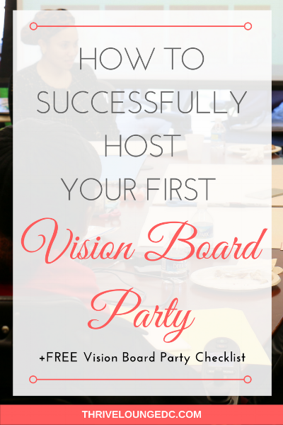 once you have all of the vision board party planning out of the way your date is set and all of your bffs have invitations in their inbox what happens - Vision Board Party Invitation