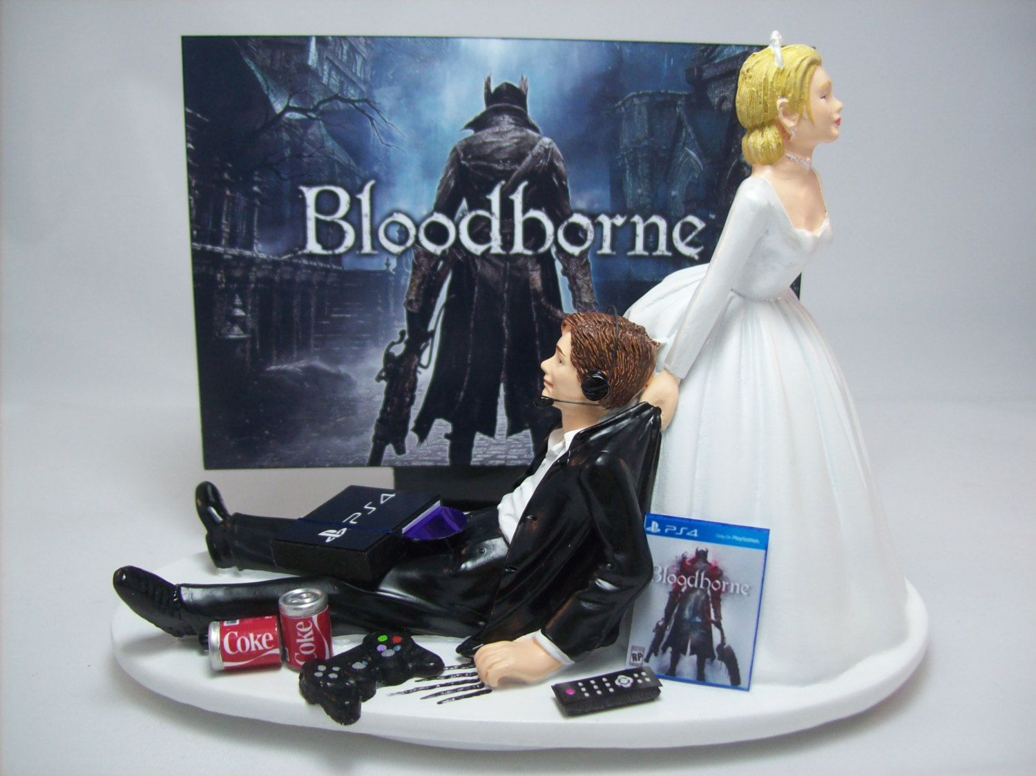 xbox one wedding cake custom wedding cake topper 27673