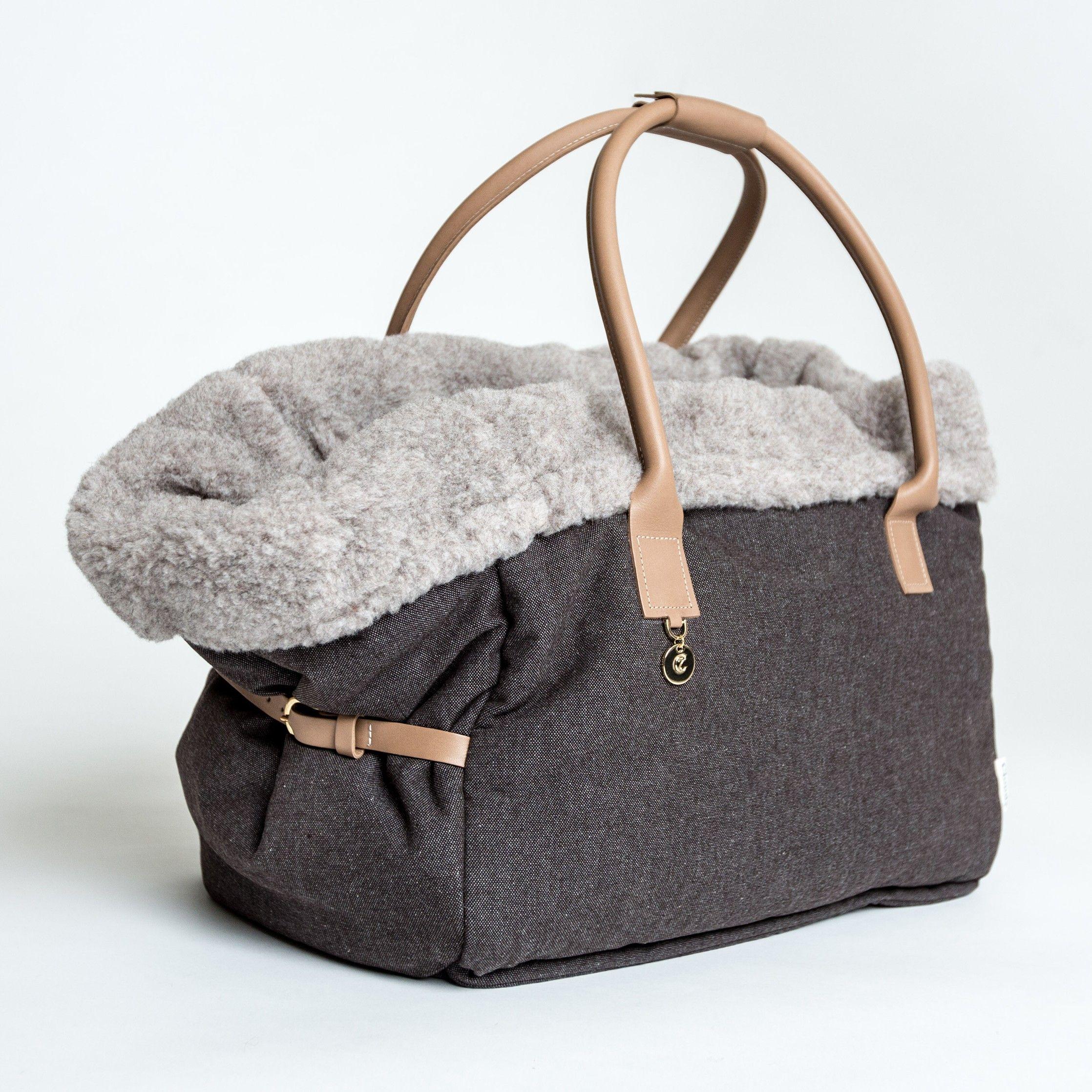 Dog Bag City Carrier Heather Brown | Pinterest | Hunde und Nähen