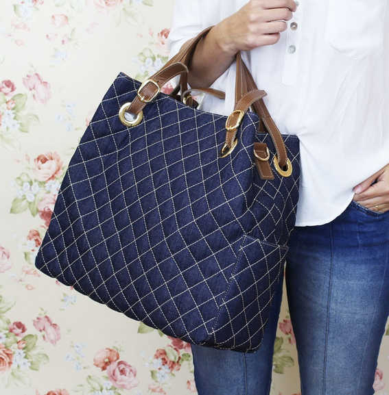 Bolsa Para Carregar As Coisas Do Bebe : Cintia jeans marinho bolsas bolsinhas