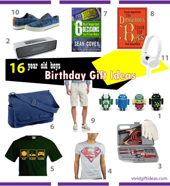 16th Birthday Ideas For Boys Gifts