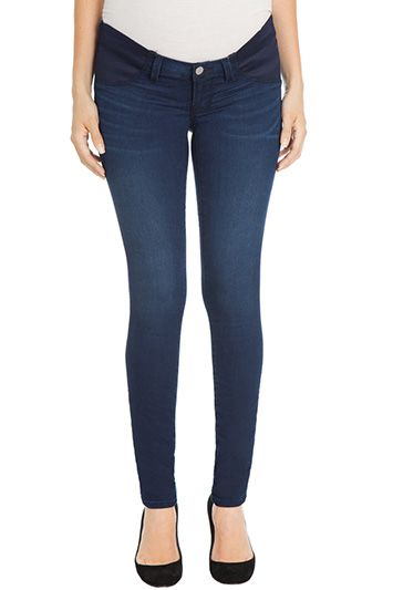 Maternity jeans are a must-have! These from J Brand are popular among weeSpring moms. Read the reviews at weespring.com.