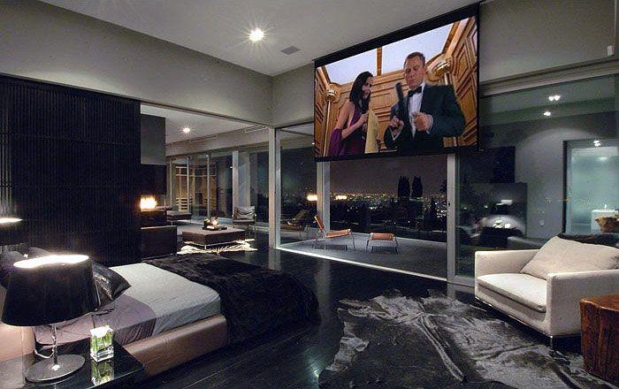 Master Bedroom With Tv Bedroom Lovely Modern Mansion Master