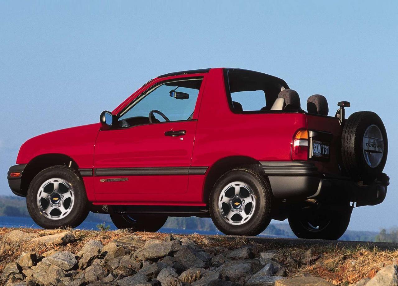 1999 Chevrolet Tracker Vehiculos 4x4 4x4