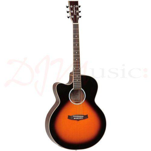 Tanglewood Tsj Ce Vs Lh Left Hand Super Jumbo Electro Acoustic Guitar Anglewood Evolution Series S Electro Acoustic Guitar Guitar Left Handed Acoustic Guitar
