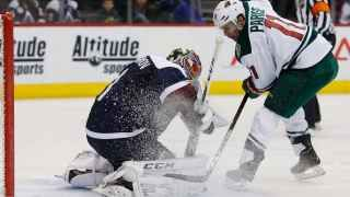 Zach Parise scored twice, and the Minnesota Wild beat the Avalanche 4-0 to move five points ahead of Colorado for eighth place in the playoff race.