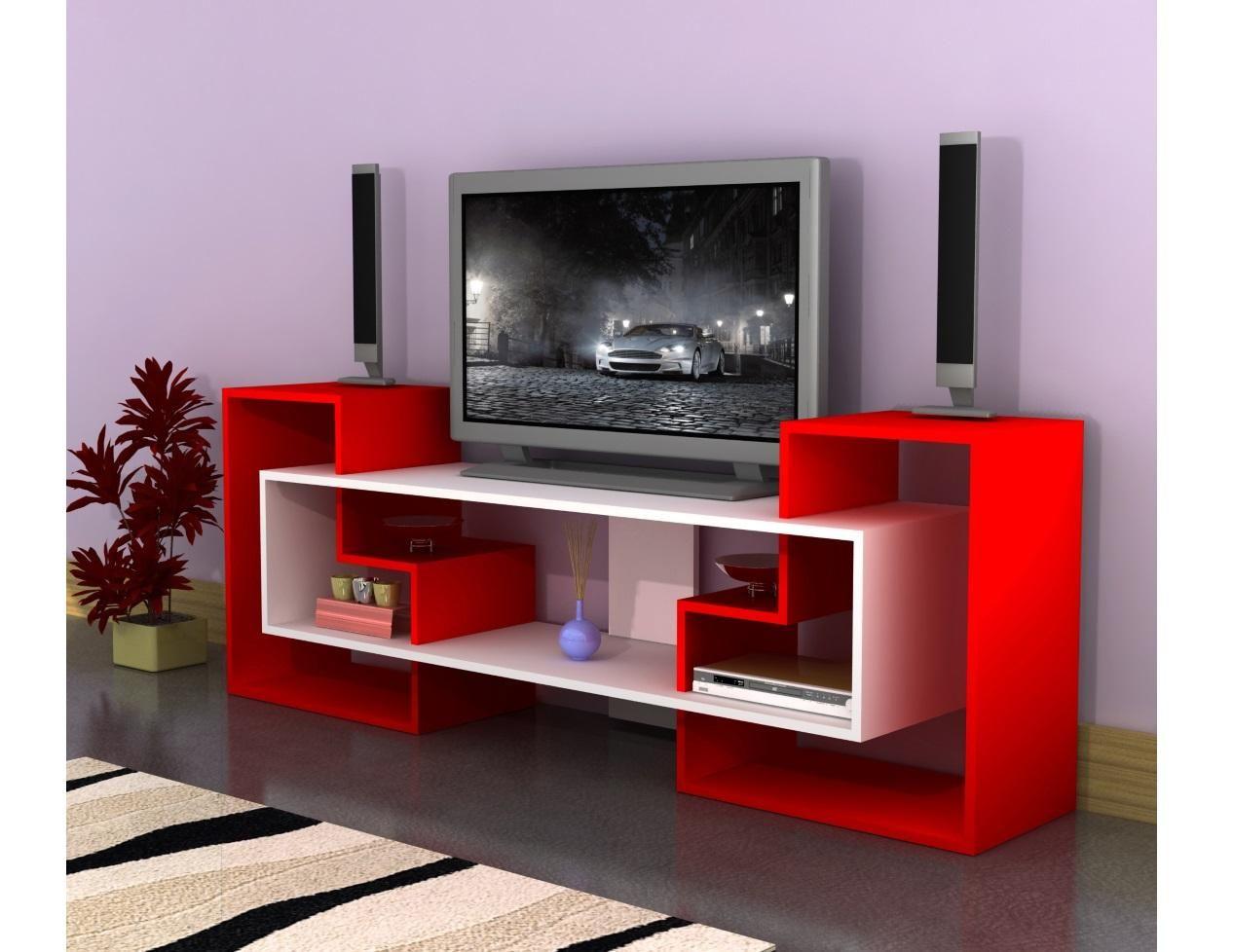 Minar Yildiz Tv Unitesi Kirmizi Beyaz Televizyon Uniteleri Ve Mobilya Modelleri Mobilya Ev Icin Oturma Odasi Tasarimlari