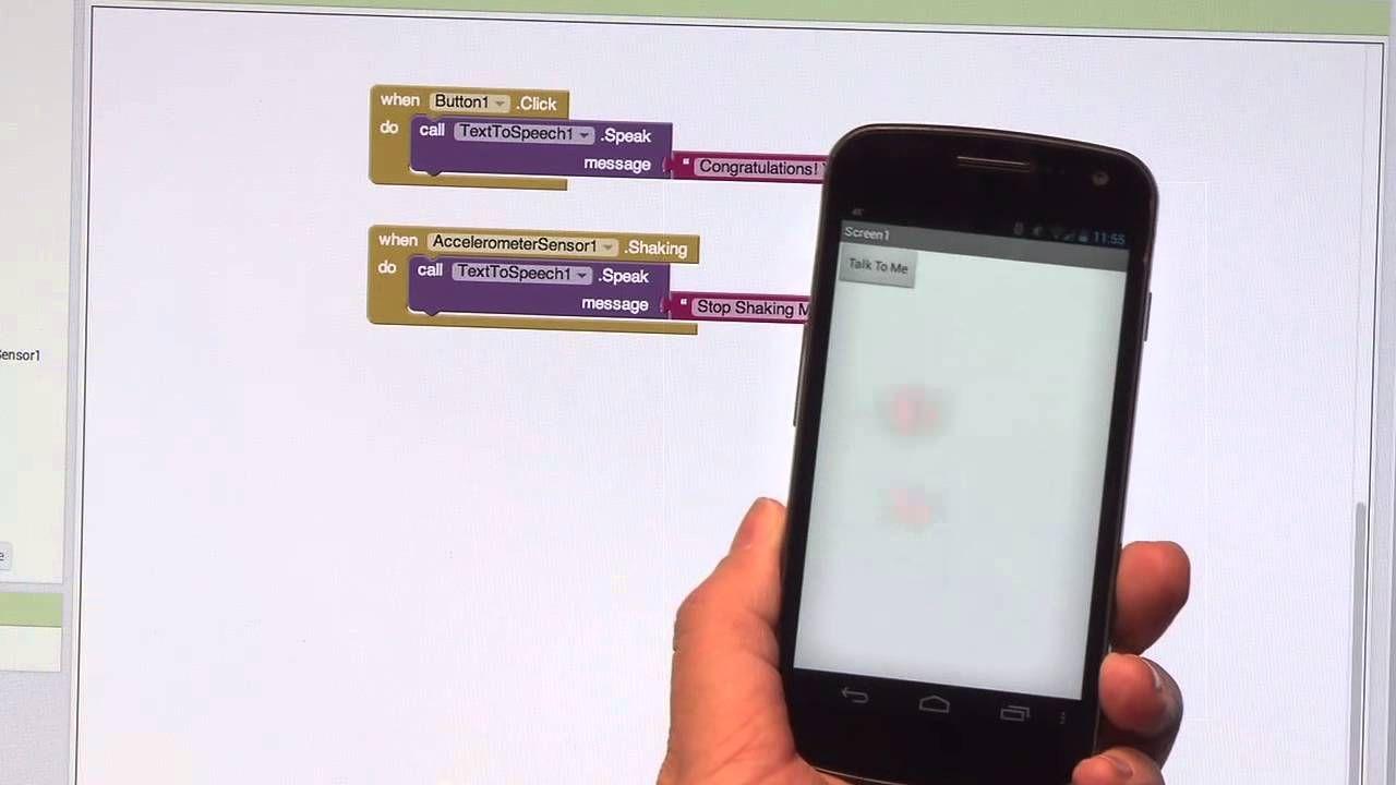 Talk To Me (part 2), MIT App Inventor Tutorial 2