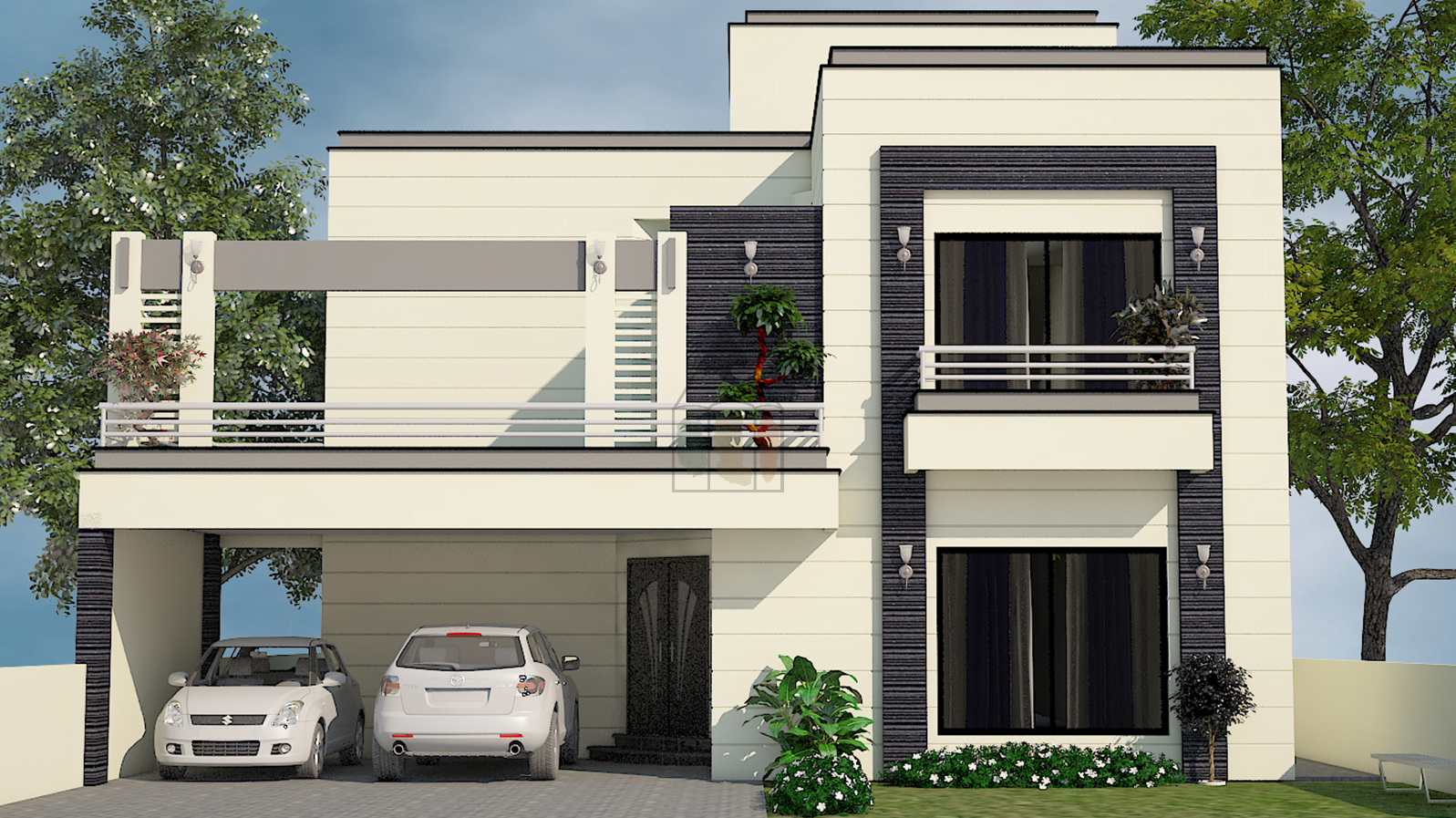 400 Sq Yard House Plans 1 Kanal In 2019