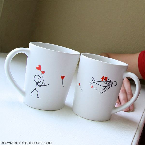 Boldloft From My Heart To Yours His And Hers Matching Couple Coffee
