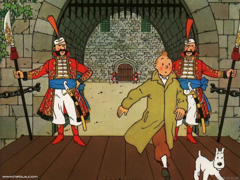 Fond D Ecran Tintin Tintin Dessin Anime Herge Tintin