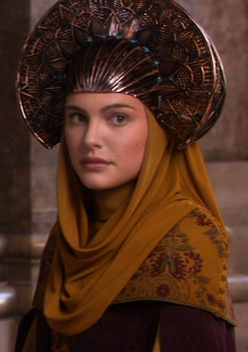 Padme while asking the Queen if her and Anakin to stay at ...