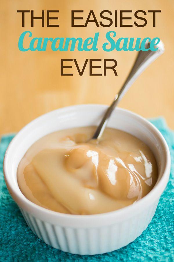 The Easiest Caramel Sauce Ever Beautiful Life And Home Recipe Sweet Sauce Caramel Sauce Caramel Recipes