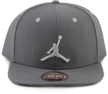 6fa0f5d6086 Nike Air Jordan Jumpman Snapback Hat (Cool Grey White  067 ...
