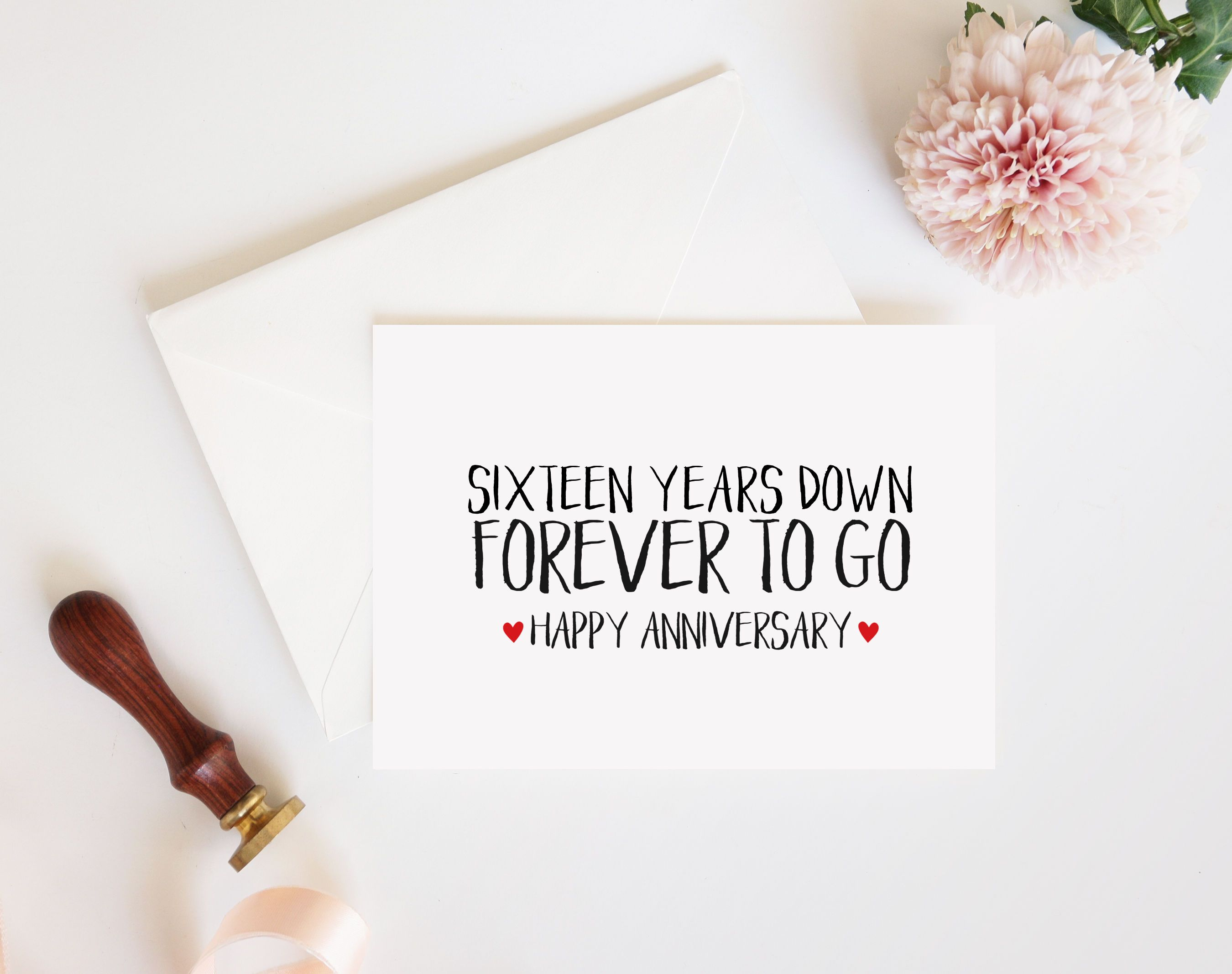 Sixteen Years Down Wedding Anniversary Quotes 9th Wedding Anniversary Anniversary Quotes