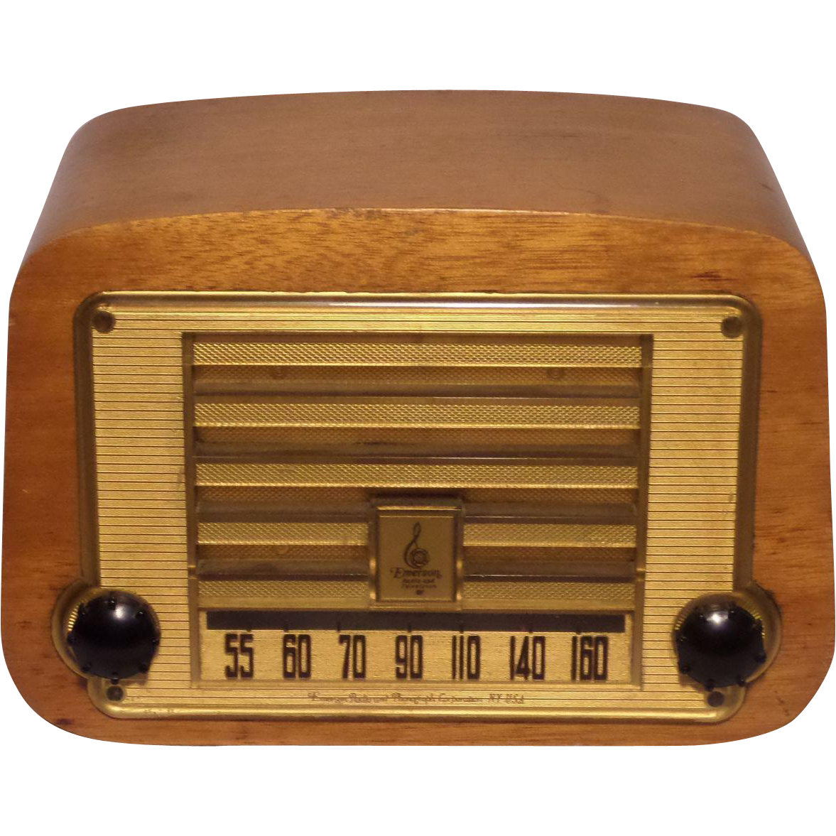 Repaired Refurbished 1946 Emerson Tube Radio Model 578 Vintage Radio Antique Radio Old Radios