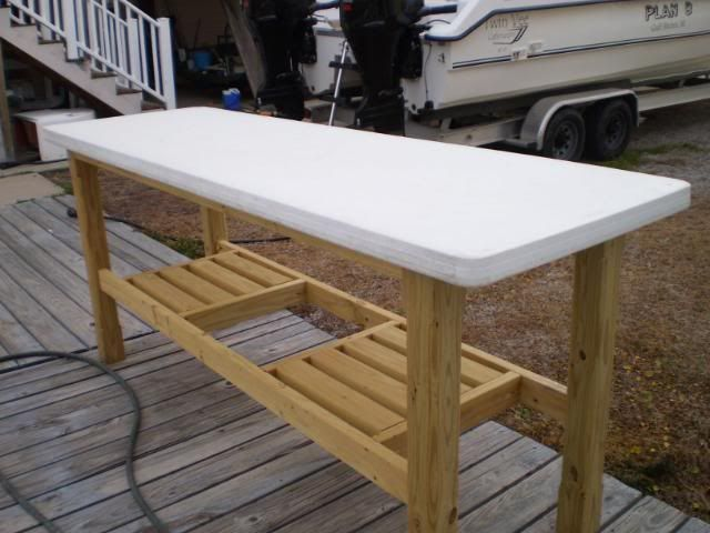 How to make a fish cleaning table description from for Fish cleaning tables