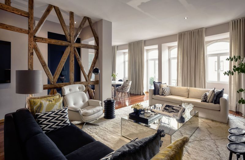 A glam apartment in Lisbon - desire to inspire - desiretoinspire.net