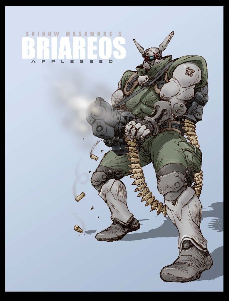 Briareos Hecatonchires From The Appleseed Saga By S2ka Masamune Shirow Cyberpunk Cyberpunk Character