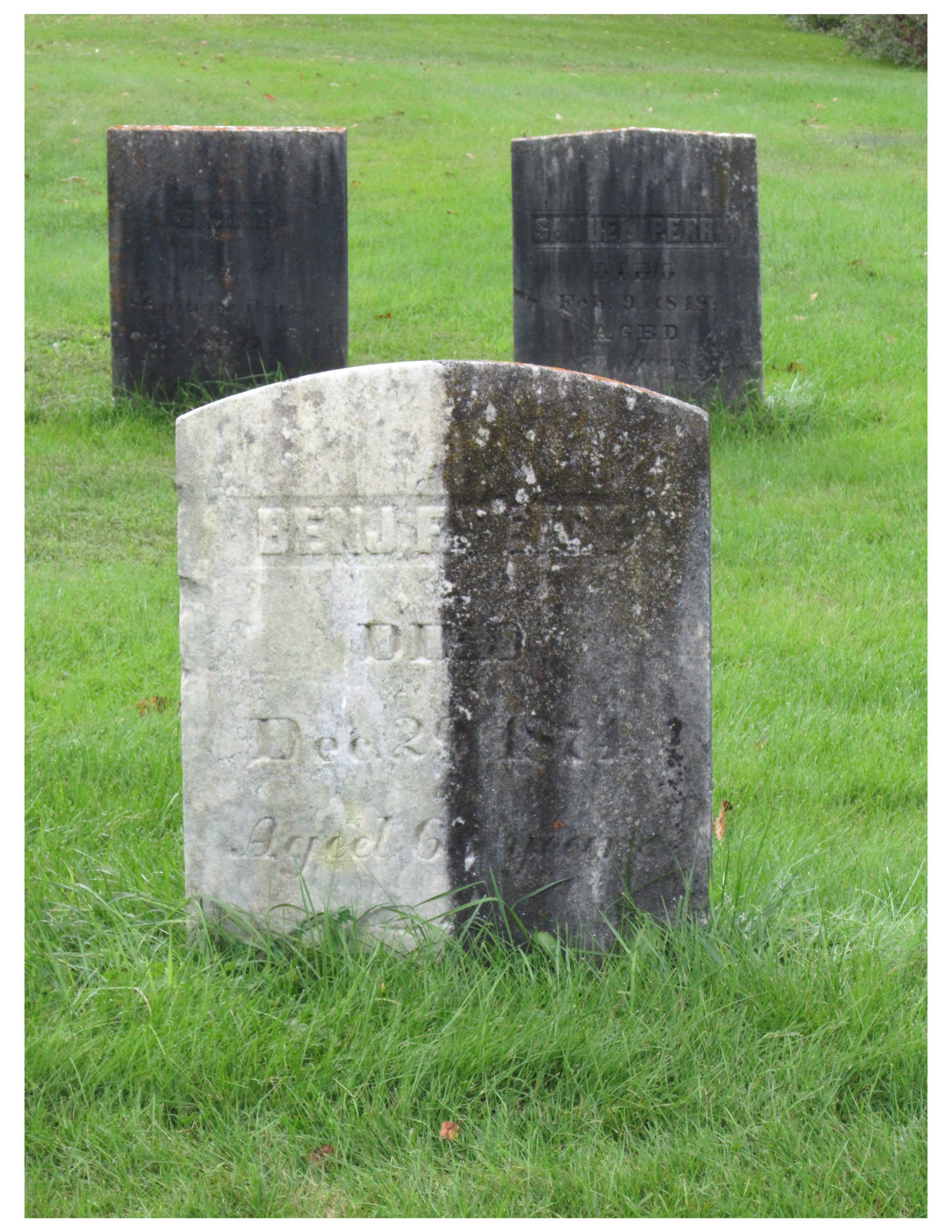 Clean Your Loved One S Gravestone With D 2 Biological Solution Cemetery Preservation Supply Llc How To Clean Headstones How To Clean Granite Headstones
