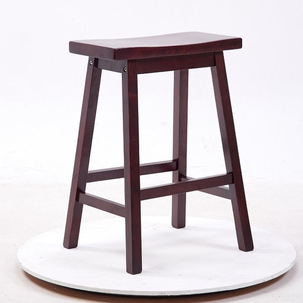 Find More Bar Stools Information About Solid Hard Wood Bar Stool Chair Saddle Seat Indoor Home Bar Furnitur Bar Furniture Modern Bar Stool Chairs Bar Furniture