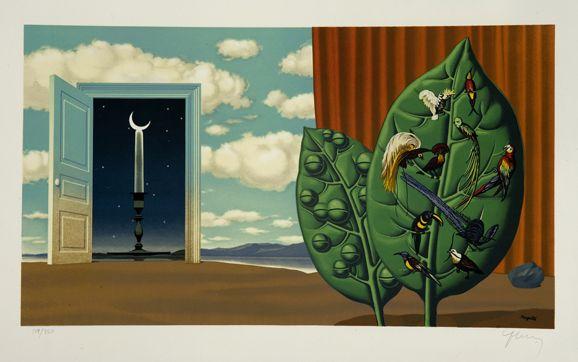 Rene Magritte: Treasure Island| Gallery Rene Magritte| Thurston Royce Gallery of Fine Art Ltd.