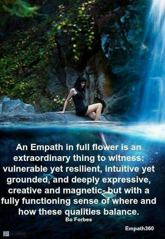 You will never fool one  An empath can feel right into your deepest
