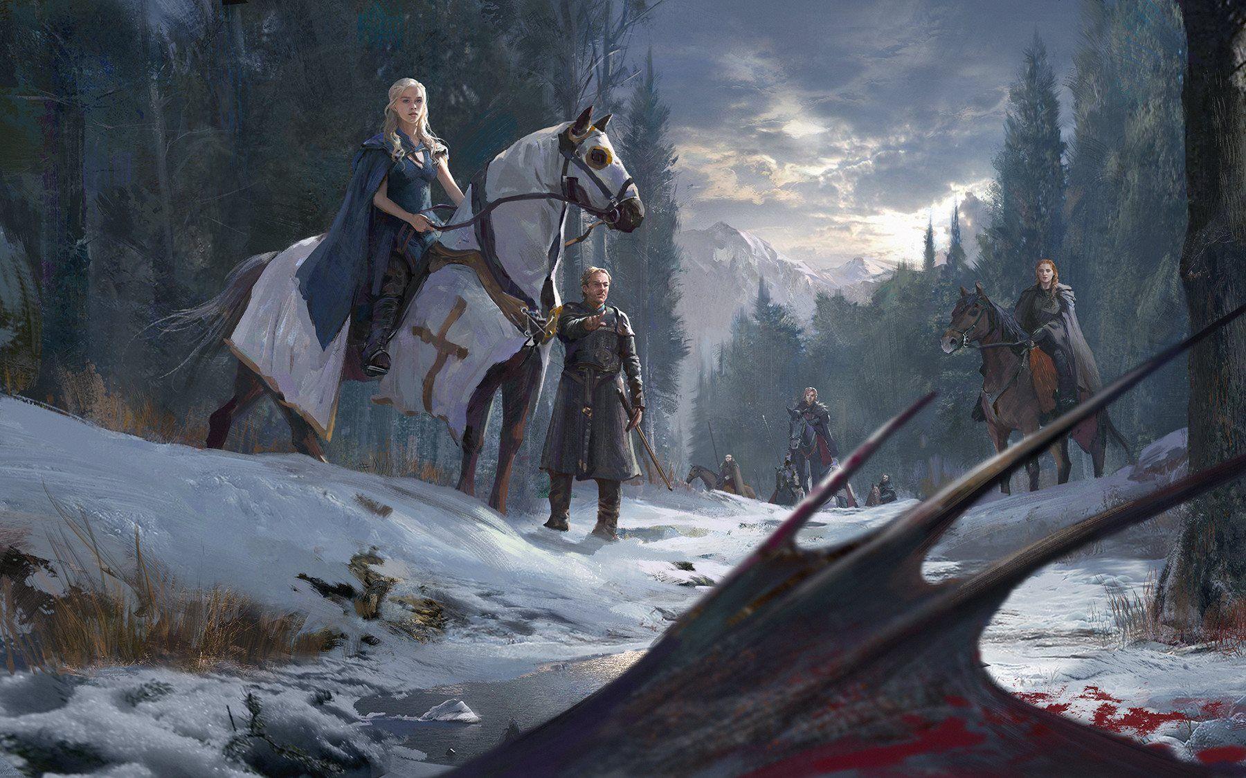 Gli Arcani Supremi (Vox clamantis in deserto - Gothian): Daenerys at the Wall