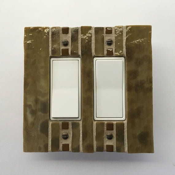 Golden Brown Switch Plate Decorative Cover