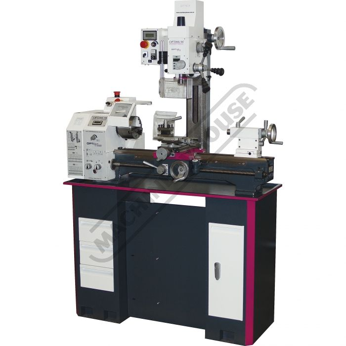 K147 | TU-2506V-20M Lathe & Mill Drill Combination Package | For