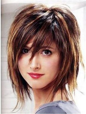 Image Result For Shag Bob Hairstyles With Bangs Choppy My Style In