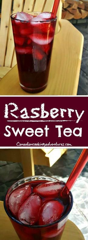Raspberry Sweet Tea #beverages