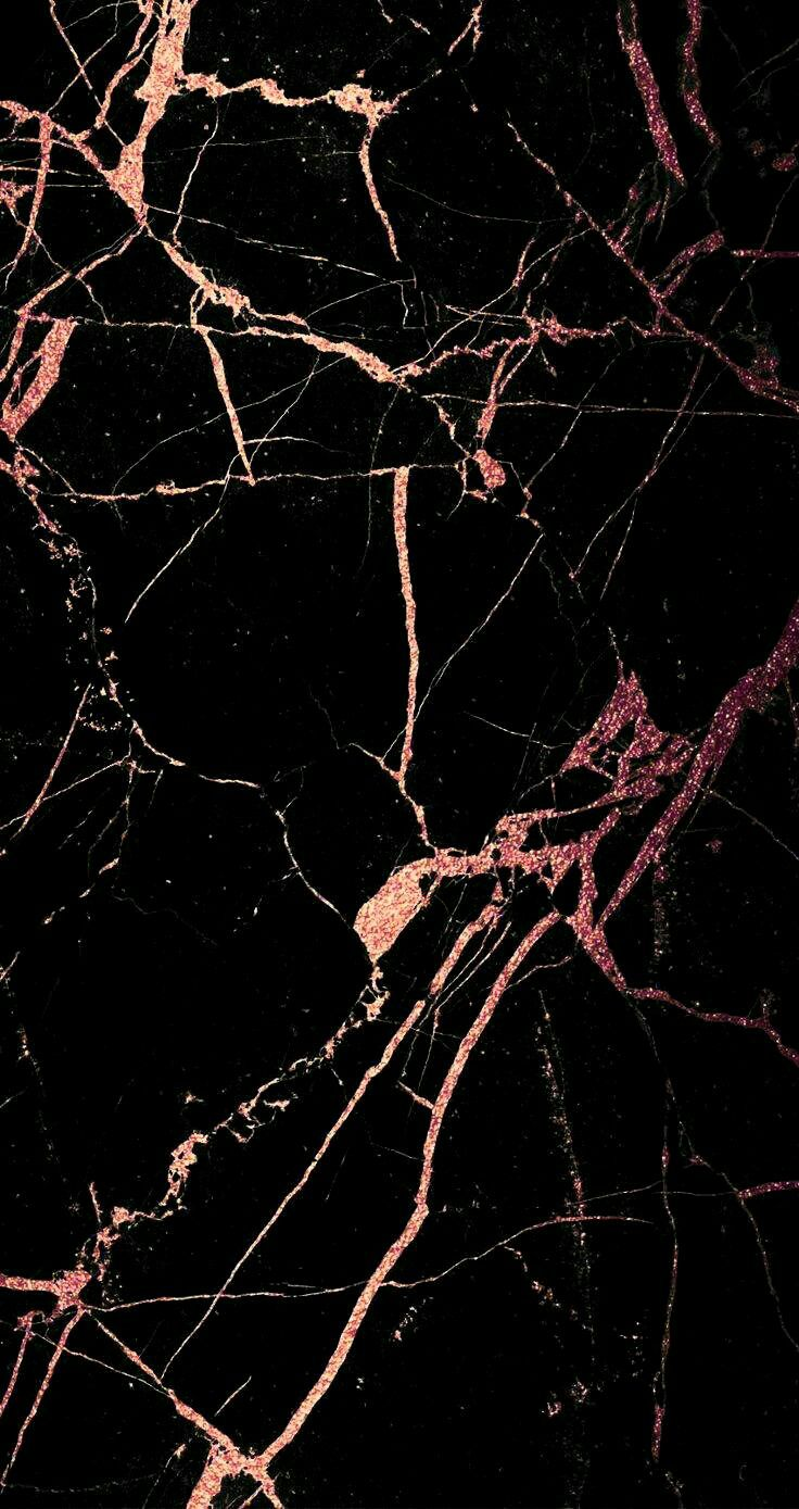 Black with rose gold texture iphone wallpapers - Rose gold background for iphone ...