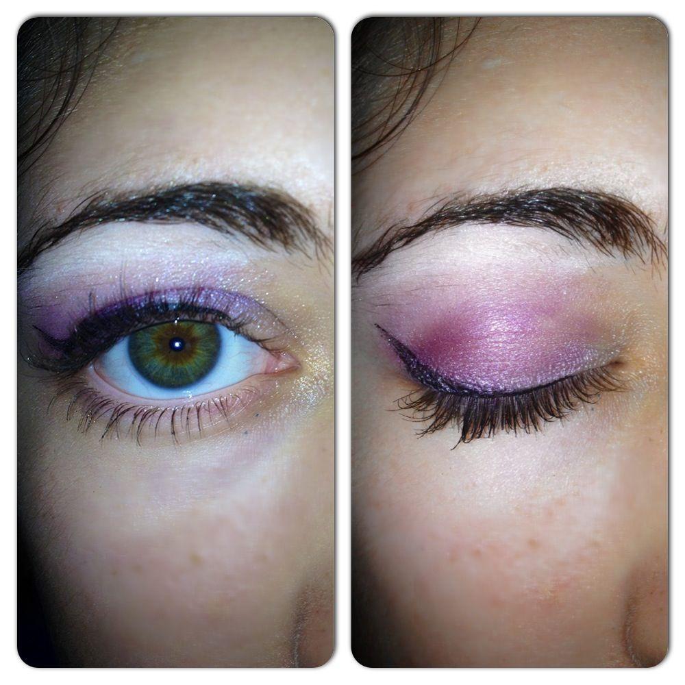 Purple eye makeup. Purple eye makeup, Eye makeup, High