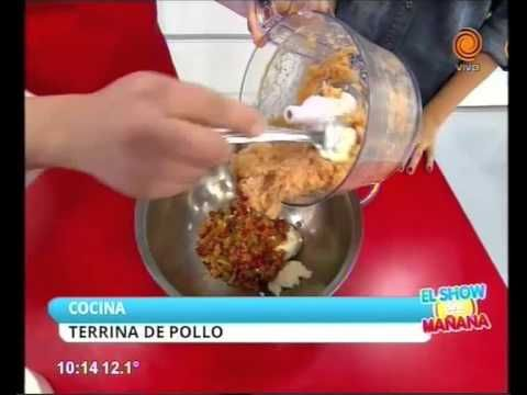 Terrina de pollo y verduras - YouTube