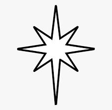 Star Clipart Art Black Star Of Bethlehem Outline Free Transparent Clipart Clipartkey Star Clipart Star Of Bethlehem Clip Art