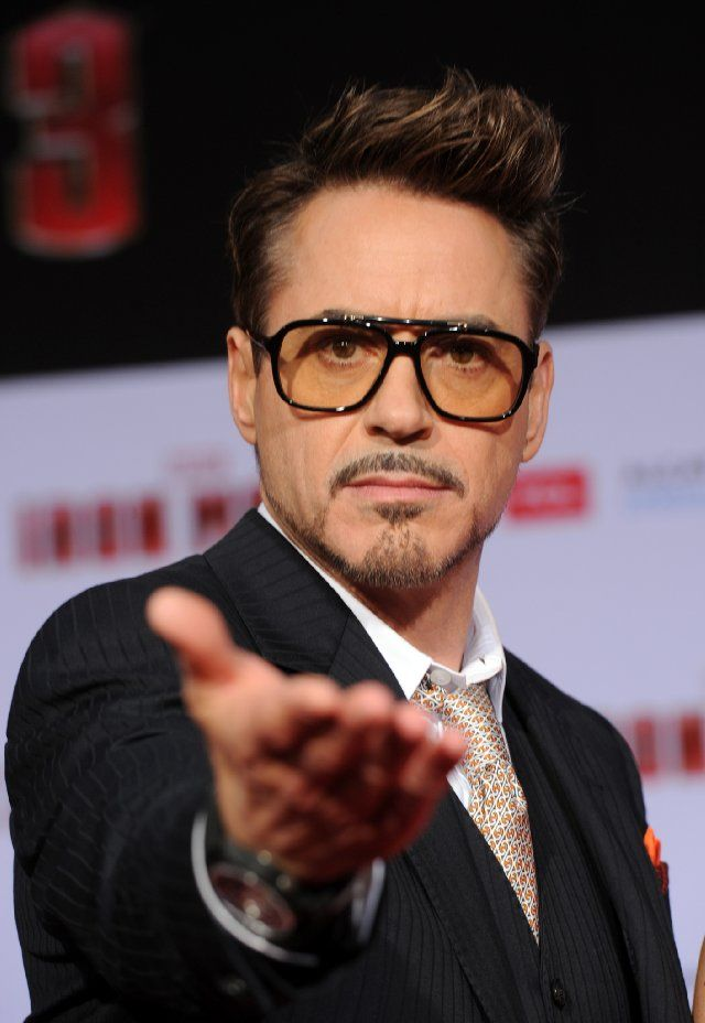 Robert Downey Jr At Event Of Iron Man 3 3 Things That Strike My