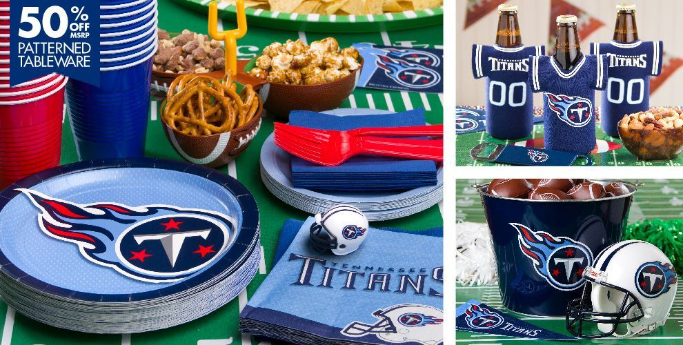 NFL Tennessee Titans Party Supplies  932d6dff0