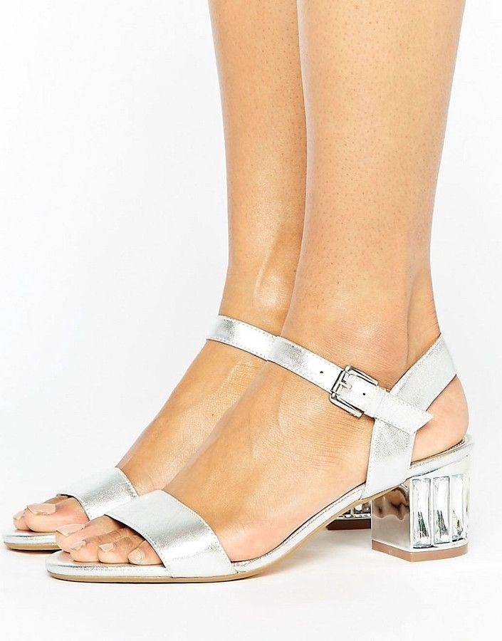 8f4973a020b0 Dune London Bridal Marcia Kitten heel Sandals