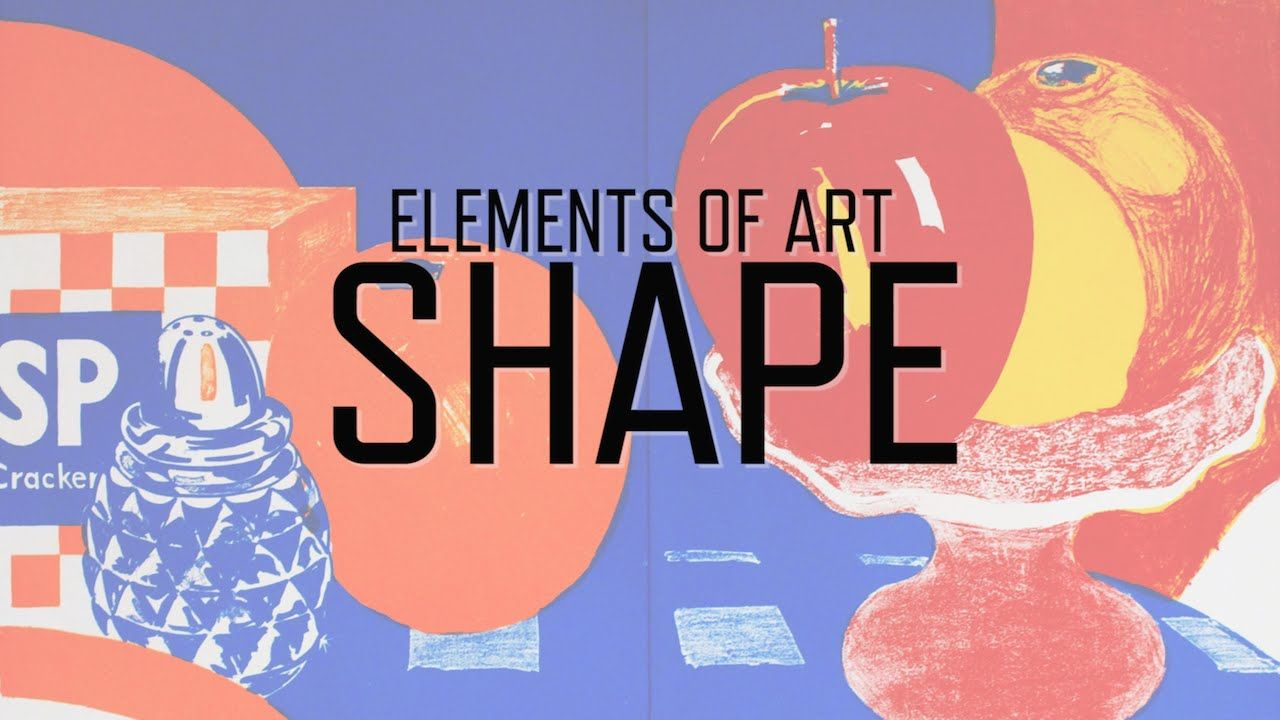Basic Elements Of Art : Elements of art shape by kqed arts school drawing technique